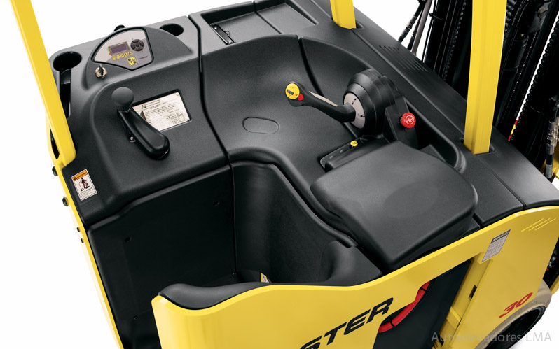Autoelevador eléctrico contrabalanceado Hyster E30-40HSD full