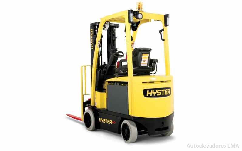 Autoelevador eléctrico contrabalanceado Hyster E30-40XN full