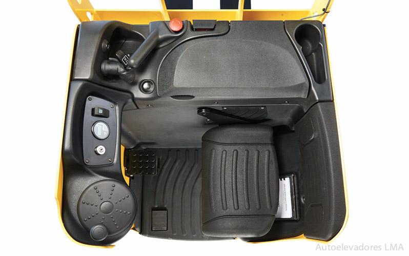 Carretilla eléctrica para transportar Hyster RP2.0-2.5N full