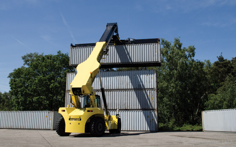 Manipuladores de contenedores Reachstacker Hyster RS45-46-TG full