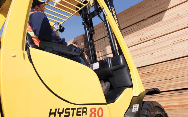 Autoelevador contrabalanceado combustión interna Hyster H80-120FT full