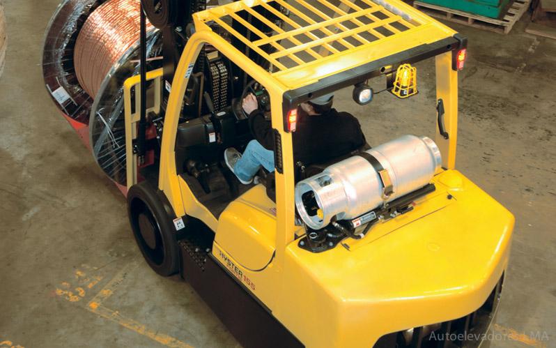 Autoelevador contrabalanceado combustión interna Hyster S135-155FT full