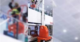Plataforma mástil vertical eléctrica MB20-26J Snorkel (6 a 8mts)