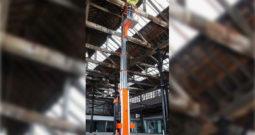 Plataforma mástil vertical manual UL25-32-40 Snorkel (8 a 12mts)