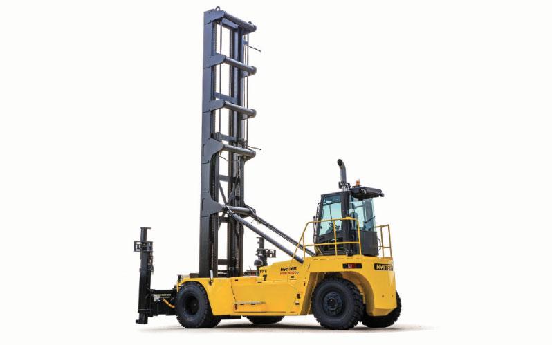 Big trucks para manejo de contenedores vacios Hyster H450-500HD-EC