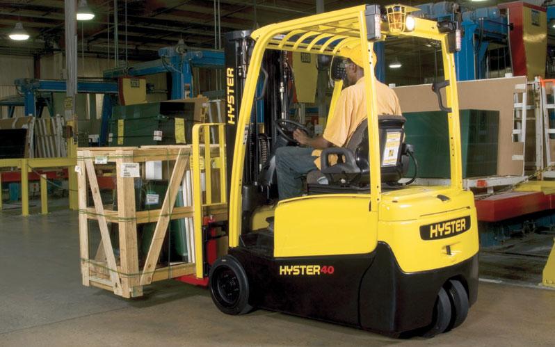 Autoelevador eléctrico contrabalanceado Hyster J30-40XNT full