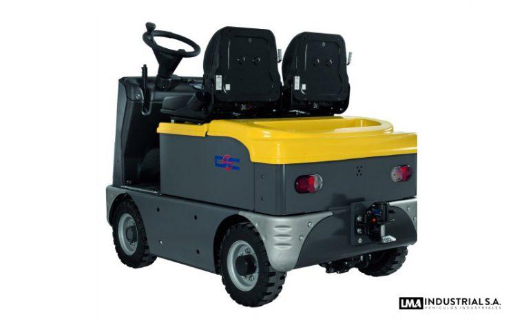 Tractor eléctrico Bull 10 full