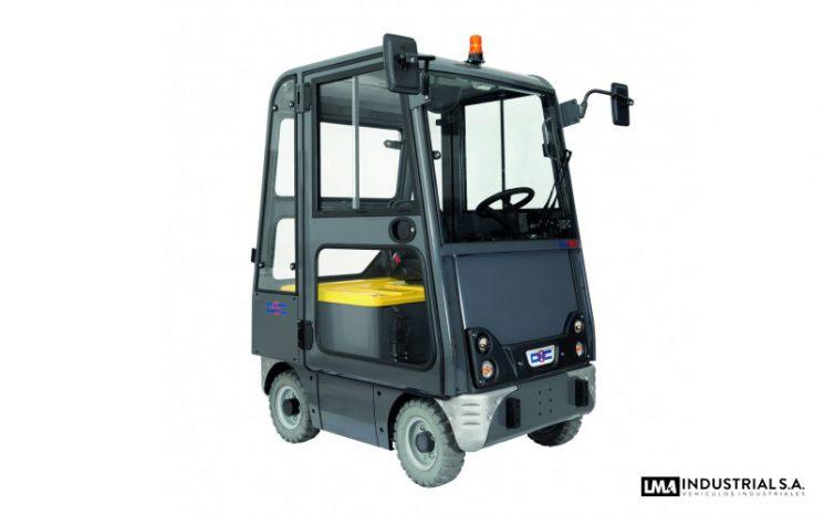 Tractor eléctrico Bull 10 CAB full
