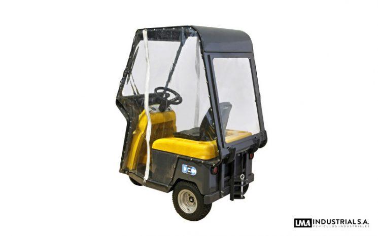 Tractor eléctrico Bull 4 CAB full