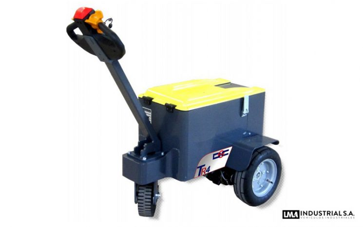 Tractor de arrastre acompañante TR 4 full