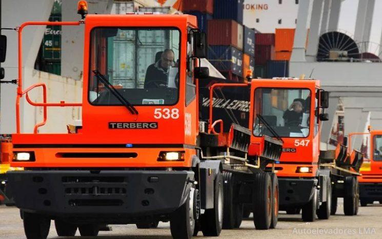 Tractor Portuario 4×2 Serie YT 182 full