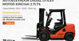 Nuevo Autoelevador DIESEL – Línea económica UT25-35PX – Con Garantía HYSTER