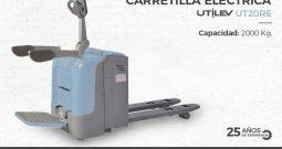 Carretilla eléctrica de hombre a bordo Utilev UT20RE