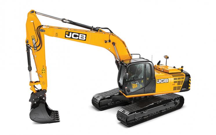 Excavadora JCB JS220 LC full