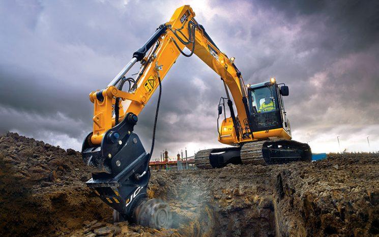 Excavadora JCB JS130 LC full